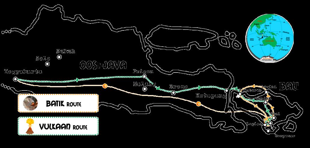 Kaart Java