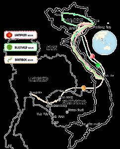 kaart-Vietnam