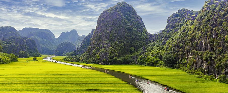 Ninh Binh Vietnam  city images : tam coc ninh binh vietnam