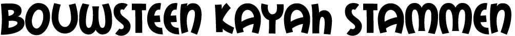 bouwsteen kayah-tekst